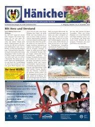 Hänicher Bote   Dezember-Ausgabe 2015