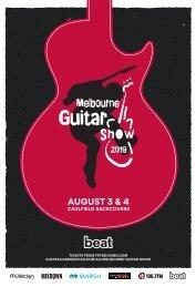 Melbourne Guitar Show 2019