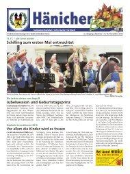 Hänicher Bote   November-Ausgabe 2015