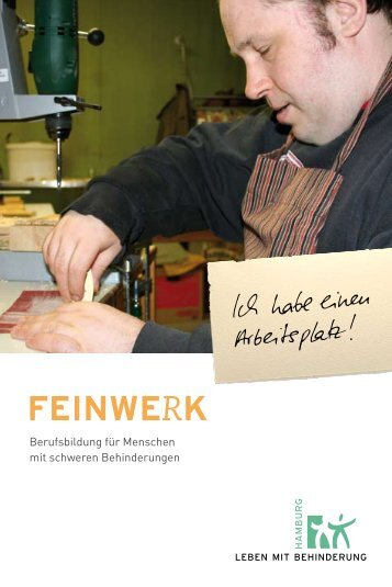 FEINWERK - Leben mit Behinderung Hamburg