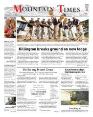 Mountain Times - Volume 48, Issue 30: July 24-30