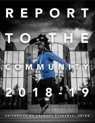Report to the Community 2018 - 2019
