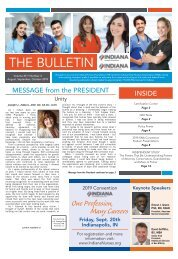 Indiana - The Bulletin - August 2019