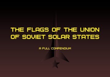 The flags of the Union of Soviet Solar States - A full compendium