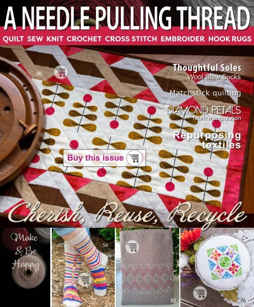 A Needle Pulling Thread Issue 50 Sampler
