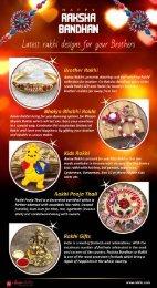 Latest Rakhi Designs for Your Brother - Happy Raksha Bandhan