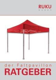 RUKUevent Faltpavillon-Ratgeber - 07/2019