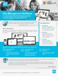 Innovation Management Software - Wide Ideas a product of Idea2Innovation