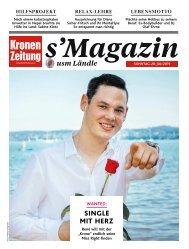s'Magazin usm Ländle, 28. Juli 2019