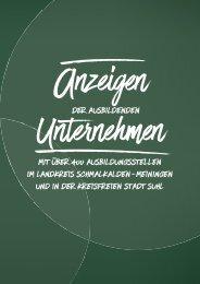 Ausbildungs-Navi SM MGN SHL 2020 Anzeigenteil