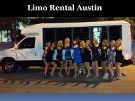 Limo Rental Austin