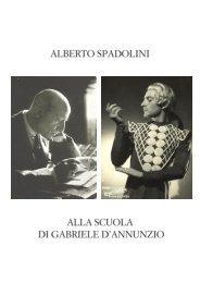 2019  Alberto Spadolini, il più dannunziano degli artisti