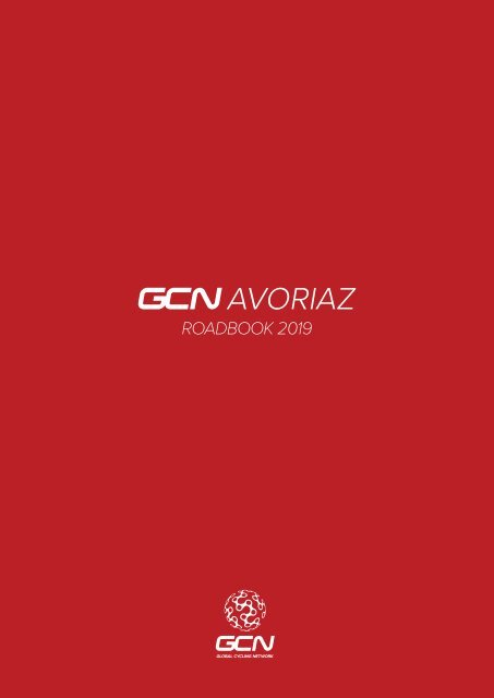 GCN Avoriaz Roadbook 2019