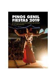 Programa de Fiestas Pinos Genil 2018