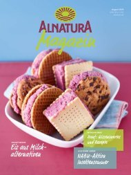 Alnatura Magazin August 2019