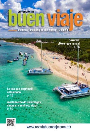 REVISTA Buen Viaje No.163 Julio 2019