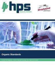 High Purity Standards Organic-Standards Brochure