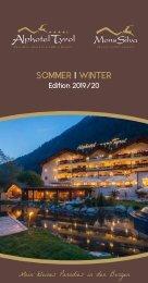 Alphotel Tyrol - Sommer - Winter Edition 2019/20
