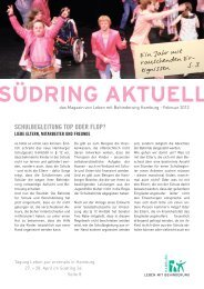 Südring Aktuell Februar 2012 - Leben mit Behinderung Hamburg