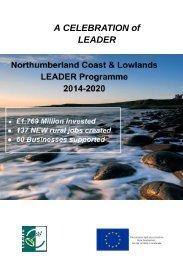 LEADER Celebration Event Brochure - June 19