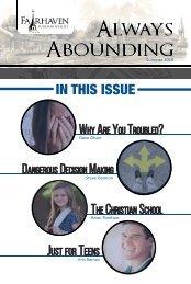 Always Abounding - 2019 - Volume 2