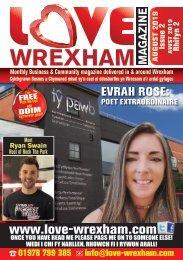 Love Wrexham Magazine Issue 2 - August 2019