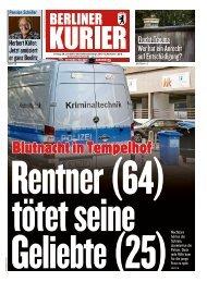 Berliner Kurier 26.07.2019