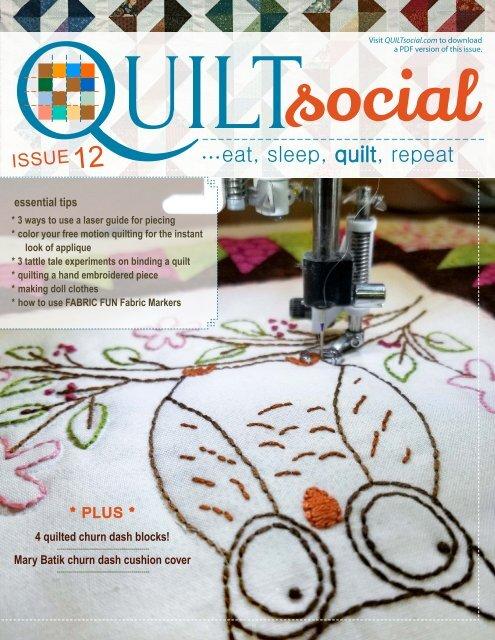 Halloween Pumpkins Quilted embroidery needlework scissor holder cotton fabric