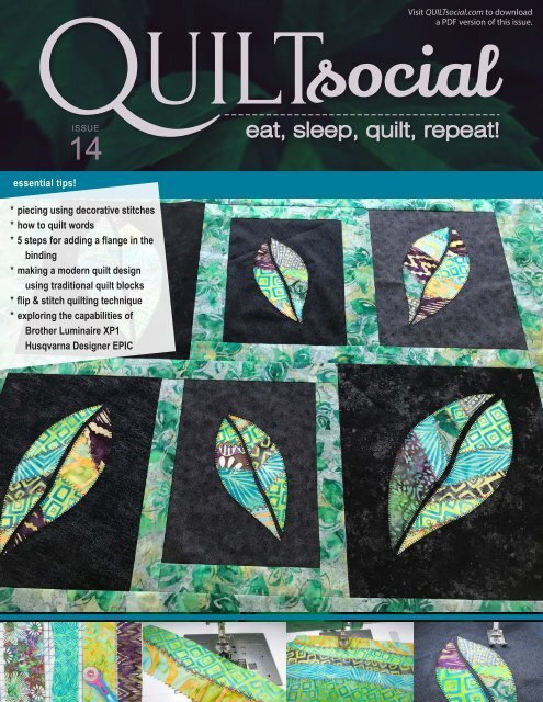 QUILTsocial Issue 14