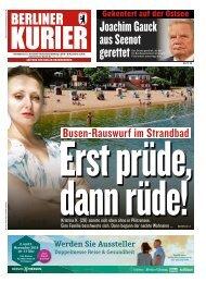 Berliner Kurier 27.07.2019