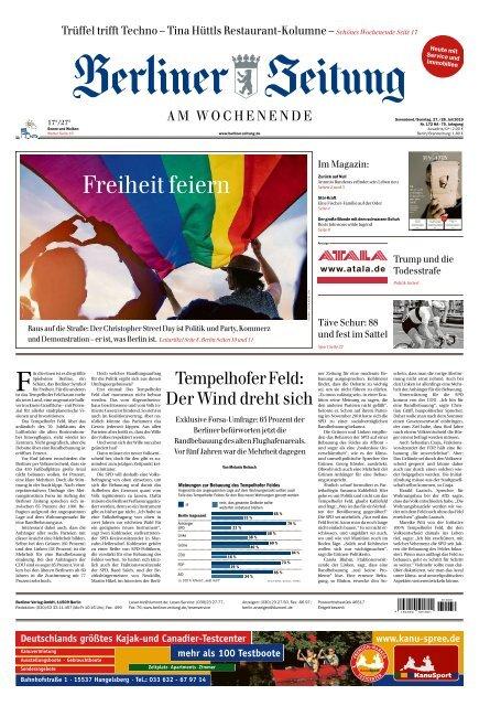 Berliner Zeitung 27.07.2019
