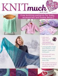 KNITmuch Issue 8