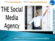 THE Social Media Agency | Sociallyin