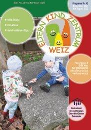 Familienprogramm September 2020 bis August 2021