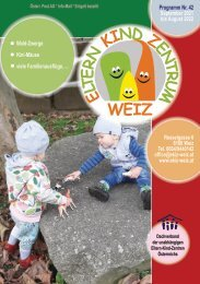 Familienprogramm  September 2021 bis August 2022