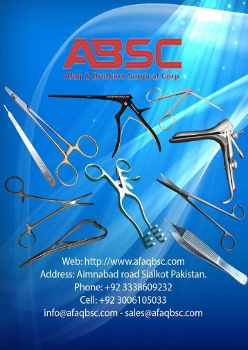Plastic Surgery Catalog by Afaqbsc
