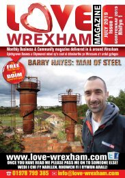 Love Wrexham Magazine Issue 1 - July 2019