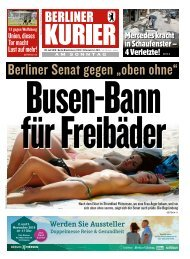 Berliner Kurier 28.07.2019