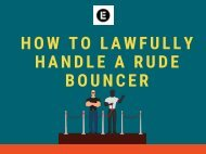 How to Lawfully Handle a Rude Bouncer