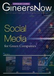 Technology Leaders magazine Aug2019 Green social media, Blockchain Telecom, AI automation autonomous bid data, consumer electronics, smartphone, cyber security robotics IoT, gadgets digitalization
