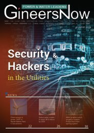 Real Security Threats of Hackers in Utilities, Power & Water Leaders magazine, Aug2019