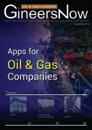 The Rise of Mobile Apps in the Energy Industry, Oil & Gas Leaders magazine, Aug2019