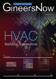 The Latest Building Automation, HVACR Leaders magazine, Aug2019