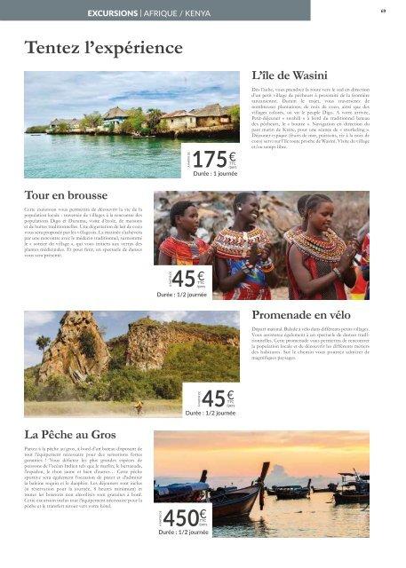 Voyamar Collection Afrique | Octobre 2019 - Décembre 2020
