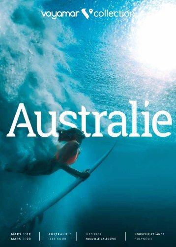 Voyamar Collection Australie |Mars 2019 - Mars 2020