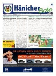 Hänicher Bote | Juni-Ausgabe 2015