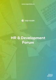 Partnerství HR & Development Forum
