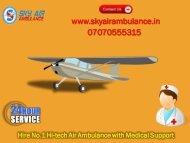 Best ICU Specialist Air Ambulance Service in Lucknow