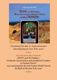 Nominierung/Nomination für  Jahresbuchpreis 2020 Iran -