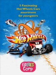 5 Fascinating Hot Wheels Cars assortment for youngsters